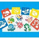 Ailiebhaus Pochoir de Dessin en Plastique Gabarits de Peinture pochoir bullet journal lettres (13 x13 cm) de la marque Ailiebhaus image 4 produit