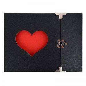 AiSi DIY Album Photo Spirale Album Photo Design Mariage Enfant Bébé Voyage Naissance 31 Pages 25 x 20cm 10 Pouces Couleur 2 de la marque AiSi image 0 produit
