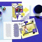 Aladine 81059 - Pochoir Carré Diy Duo Géométrique Japonais de la marque Aladine image 1 produit