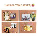 Album Photo DIY, Pootack Scrapbook (19x30cm, 80 pages, 40 feuilles) avec un ensemble de stylo couleur, un ciseaux, une bande de dentelle décorative, des autocollants - Cadeau pour un souvenir d'amour, amis, famille, enfants de la marque POOTACK image 2 produit