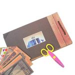 Album Photo DIY, Pootack Scrapbook (19x30cm, 80 pages, 40 feuilles) avec un ensemble de stylo couleur, un ciseaux, une bande de dentelle décorative, des autocollants - Cadeau pour un souvenir d'amour, amis, famille, enfants de la marque POOTACK image 4 produit