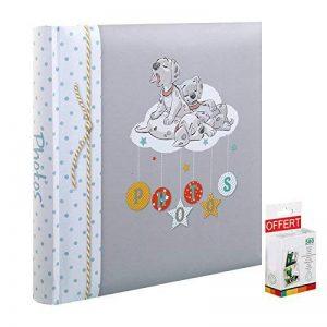 Album Photo Enfant Tradionnel Disney Baby 101 DALMATIENS 60 pages blanches - En cadeau 1 boite de 500 pastilles double face pour l'achat de cet album de la marque Innova image 0 produit