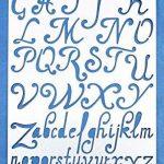 Aleks Melnyk 34 Bullet Journal Pochoir Métal/Alphabet Lettre Numéro/acier inoxydable Planner Pochoirs Journal/Notebook/Journal/Scrapbooking/Artisanat/Modèle de dessin bricolage Pochoir de la marque Aleks Melnyk image 1 produit