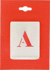 Alphabet en Alu ajouré - Hauteur 40 mm de la marque B-D image 0 produit