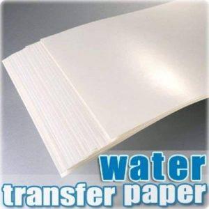 AMZ TPW Lot de 20feuilles de papier pour décalcomanie à l'eau Blanc Format A4 de la marque AMZ image 0 produit