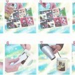 AMZ TPW Lot de 20feuilles de papier pour décalcomanie à l'eau Blanc Format A4 de la marque AMZ image 2 produit