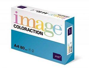 Antalis ColorAction Ramette 500 feuilles papier couleur pour Imprimante jet d'encre/laser/Copieur 80g A4 Lisboa Bleu Roi de la marque Antalis image 0 produit
