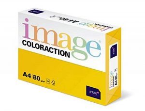 Antalis ColorAction Ramette 500 feuilles papier couleur pour Imprimante jet d'encre/laser/Copieur 80g A4 Sevilla Jaune soleil de la marque Antalis image 0 produit