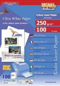Apli DCI1778 Boîte de 100 Feuilles papier photo mat A4 250 g Blanc de la marque Apli image 0 produit