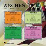 Arches Aquarelle Bloc Collé 4 Côtés Grain Torchon 20 Feuilles 300g 31 x 41 cm Blanc Naturel de la marque Arches image 1 produit