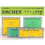 Arches Aquarelle Bloc Collé 4 Côtés Grain Torchon 20 Feuilles 300g 31 x 41 cm Blanc Naturel de la marque Arches image 3 produit