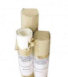 Arches Aquarelle papier, bois, blanc, Bois, weiß, Rolle - 113 x 914cm de la marque Arches image 0 produit