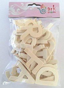 Ark Lot de 60 lettres en bois de la marque Ark image 0 produit