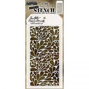 Art Gone Wild Tim Holtz Pochoir Splash, Transparent de la marque Art Gone Wild image 0 produit