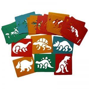 Art Pailles hp12051pochoirs Dinosaure de la marque Artstraws image 0 produit