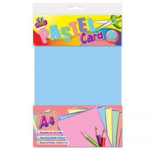 Artbox Lot de 20 feuilles de papier cartonné Pastel A4 de la marque ARTBOX image 0 produit