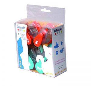 Artemio 10003017 Kit de 4 Perforatrices Animaux Plastique Multicolore 11,2 x 4,59 x 14,7 cm de la marque Artemio image 0 produit