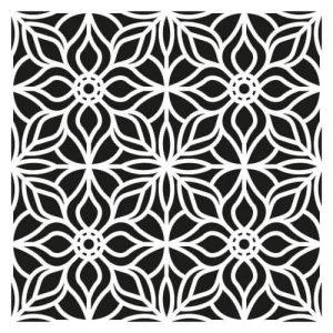 Artemio Fantaisie Pochoir Home Déco, Plastique, Noir, 30,5 x 0,2 x 35 cm de la marque Artemio image 0 produit