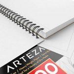 Arteza Croquis Des Livres, Papier a Dessin, Sketch Book - Pad 22.9 x 30.5 CM de la marque ARTEZA® image 2 produit