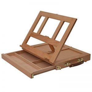 Artina Malette Chevalet de Colmar - Boite planche à Dessin Avec tiroir et Compartiments pour le rangement des Accessoires et Fournitures - 33,5x26x27cm de la marque Artina image 0 produit