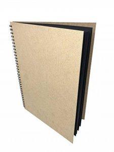 Artway Enviro - Carnet à dessin - grandes feuilles cartonnées/noires - 100 % papier recyclé - 270 g/m² - A3 - 30 feuilles de la marque Artway image 0 produit