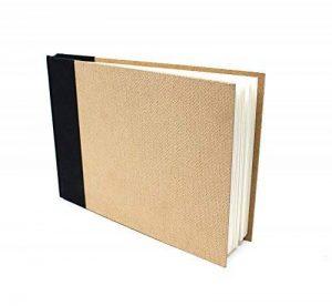Artway Enviro - Carnet à dessin à reliure rigide - papier cartouche 100 % recyclé - couverture en fibres de bois - 170 g/m² - 96 pages - A5 paysage de la marque Artway image 0 produit