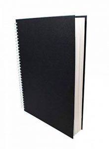 Artway Studio - Carnet à dessin avec reliure double spirale et couverture rigide - papier cartouche sans acide - 170 g/m² - 48 feuilles - A3 portrait de la marque Artway image 0 produit