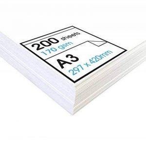 Artway Studio - Papier cartouche à dessin - sans acide - feuilles parfaites pour techniques sèches - 170 g/m² - A3 (200 feuilles) de la marque Artway image 0 produit