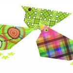 Avenue Mandarine 52501MD Une pochette Origami Paper Géométrique - 20 x 20 cm - 60 Feuilles - 70 g de la marque Avenue Mandarine image 2 produit