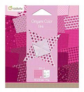 Avenue Mandarine Papier pour Origami Collor de 20 Feuilles, Camaieu de Jaune 12 X 12 Cm 70 G de la marque Avenue Mandarine image 0 produit
