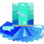 Avenue Mandarine Papier pour Origami Collor de 20 Feuilles, Camaieu de Jaune 12 X 12 Cm 70 G de la marque Avenue Mandarine image 2 produit