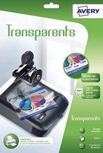 Avery 15 Transparents pour rétroprojecteur - A4 - Impression Jet d'Encre (2503) de la marque Avery image 0 produit