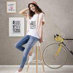 Avery 24 Feuilles de Papiers Transferts T Shirt/Textile Blancs ou Clairs - A4 - Jet d'Encre (MD1006) de la marque Avery image 4 produit