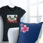 Avery 4 Papiers Transferts T shirt/Textile Noirs ou Foncés - A4 - Jet d'Encre (C9406) de la marque Avery image 1 produit