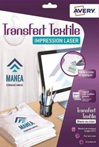 Avery C9403-15 Papiers Transferts T-shirt/Textile A4 Blanc/Clair de la marque Avery image 0 produit