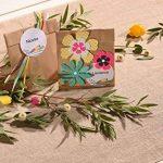 Avery Lot de 60 Etiquettes Cadeaux Imprimables Rondes - Ø6cm - Brillant - Blanc (J8105MC) de la marque Avery image 1 produit