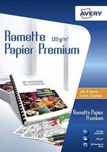 Avery Ramette de 200 Feuilles de Papier Premium 120g/m² (2584) de la marque Avery image 0 produit