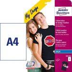 Avery Zweckform Film transfert DIN A4 pour textiles couleur 8 feuilles de la marque Avery image 1 produit