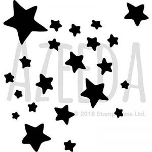 Azeeda A3 'Étoiles' pochoir mural (WS00012108) de la marque Azeeda image 0 produit