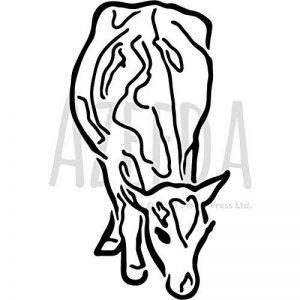 Azeeda A4 'Vache' pochoir mural (WS00034659) de la marque Azeeda image 0 produit
