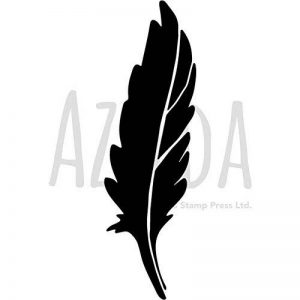 Azeeda A5 'Plume Silhouettée' Pochoir Mural (WS00029024) de la marque Azeeda image 0 produit