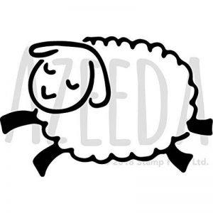 Azeeda A5 'Sauter le Mouton' pochoir mural (WS00027100) de la marque Azeeda image 0 produit