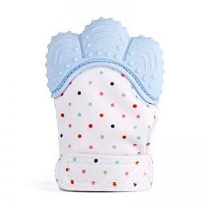 Baby zahnen Moufles Gants Jouet de dentition Thé Thing Mitten Anneau de dentition pour bébé Enfants, un morceau de la marque SYGoodBUY image 0 produit
