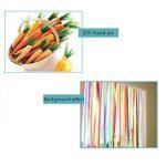 Banderoles en papier crépon pour fête d'anniversaire, de mariage, couleurs assorties, 4,5 cm x 25 m de la marque CAMTOP image 3 produit