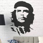 banksy CHE GUEVARA Pochoir Réutilisable Décoration murale pochoir Graffiti BANKSY STYLE ART POCHOIR PEINTURE murs Fabrics & MEUBLE - semi transparent pochoir, S/ 17X24CM de la marque Ideal Stencils image 1 produit