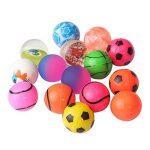 Beyond Dreams Lot de 24 Ballons sauteurs | Anniversaire des enfants | Jouets Kids Party | Cadeau de fête | Balle en caoutchouc | Balle rebondissante pour les enfants | Party favor | couleurs vives | pour le sac cadeau | petits cadeaux | adapté pour les ga image 2 produit