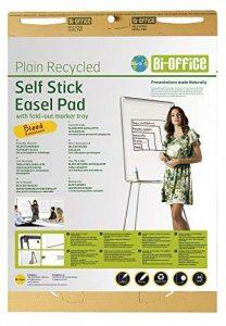 Bi-Office Earth - Bloc de Papier pour Paperboard, A1, 30 Feuilles Auto-Adhésives et Repositionnables, 80g/m², Lot de 2 de la marque Bi-OFFICE image 0 produit