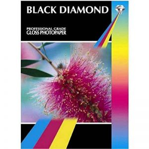 Black Diamond Lot de 50 feuilles de papier photo brillant de qualité professionnelle Blanc Format A3 260 g/m² de la marque Black Diamond image 0 produit
