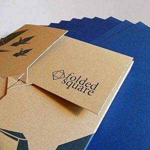 Bleu 301 Pantone - Ensemble cadeau papier Origami 100 feuilles de la marque Folded Square Origami image 0 produit
