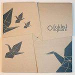 Bleu 301 Pantone - Ensemble cadeau papier Origami 100 feuilles de la marque Folded Square Origami image 2 produit